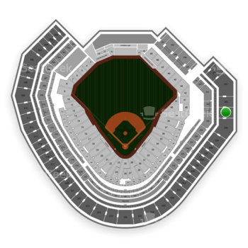 NHL at Globe Life Park Section 341 View