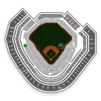 Texas Rangers at Globe Life Park Section 112 View