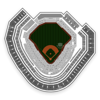 Texas Rangers at Globe Life Park Section 126 View
