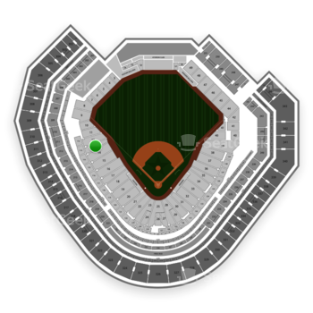 Texas Rangers at Globe Life Park Section 13 View