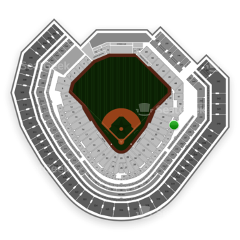 Texas Rangers at Globe Life Park Section 138 View