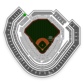 Texas Rangers at Globe Life Park Section 201 View