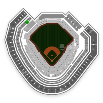 Texas Rangers at Globe Life Park Section 203 View