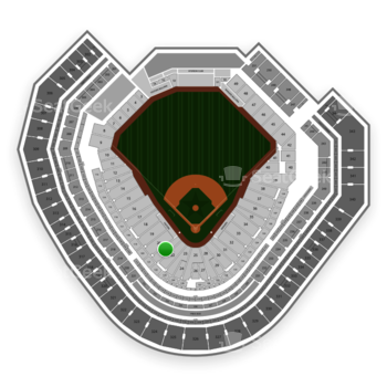 Texas Rangers at Globe Life Park Section 21 View