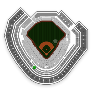 Texas Rangers at Globe Life Park Section 222 View