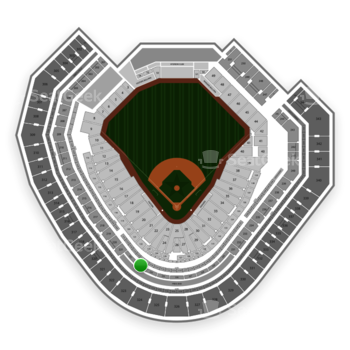 Texas Rangers at Globe Life Park Section 223 View