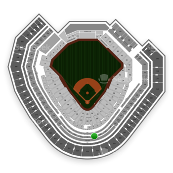 Texas Rangers at Globe Life Park Section 227 View