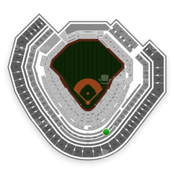 Texas Rangers at Globe Life Park Section 229 View