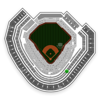 Texas Rangers at Globe Life Park Section 231 View