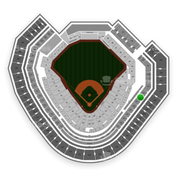 Texas Rangers at Globe Life Park Section 238 View