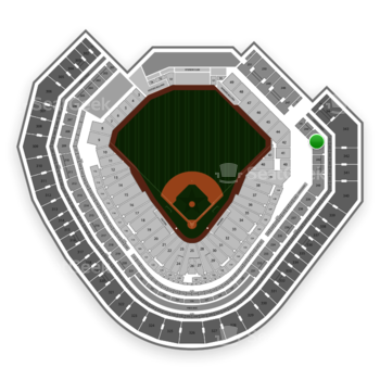 Texas Rangers at Globe Life Park Section 243 View