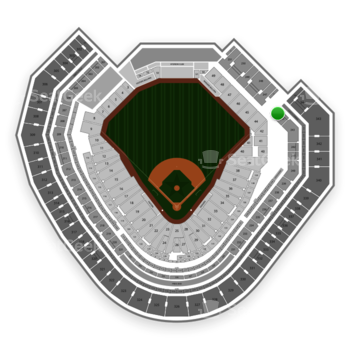 Texas Rangers at Globe Life Park Section 245 View