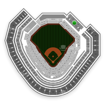 Texas Rangers at Globe Life Park Section 249 View
