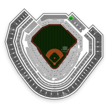 Texas Rangers at Globe Life Park Section 251 View