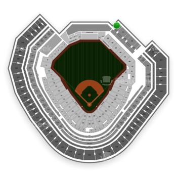Texas Rangers at Globe Life Park Section 252 View