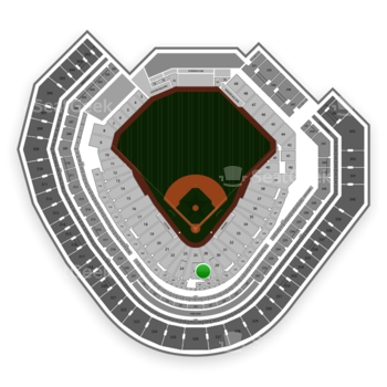 Texas Rangers at Globe Life Park Section 27 View