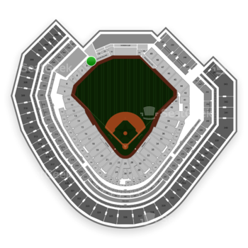 Texas Rangers at Globe Life Park Section 3 View