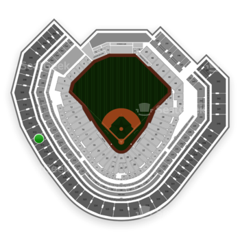 Texas Rangers at Globe Life Park Section 314 View