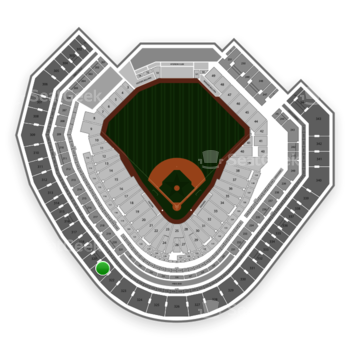 Texas Rangers at Globe Life Park Section 321 View