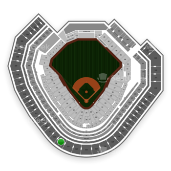 Texas Rangers at Globe Life Park Section 323 View