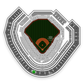Texas Rangers at Globe Life Park Section 324 View
