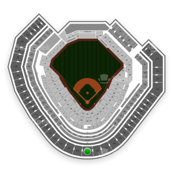 Texas Rangers at Globe Life Park Section 326 View