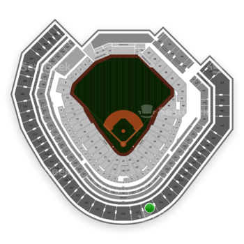 Texas Rangers at Globe Life Park Section 328 View