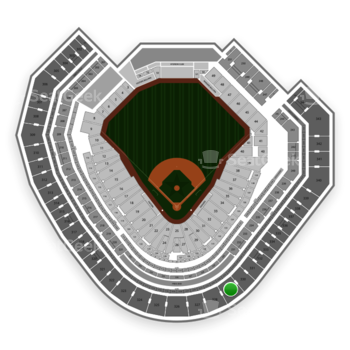 Texas Rangers at Globe Life Park Section 329 View