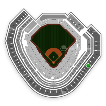 Texas Rangers at Globe Life Park Section 337 View