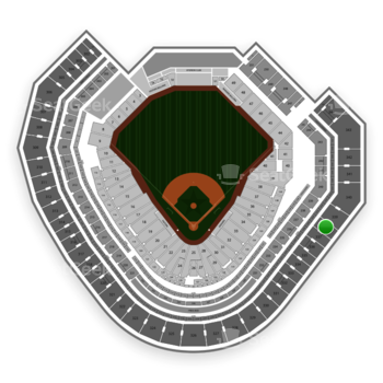 Texas Rangers at Globe Life Park Section 338 View