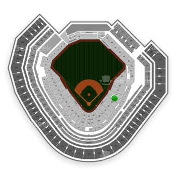 Texas Rangers at Globe Life Park Section 35 View