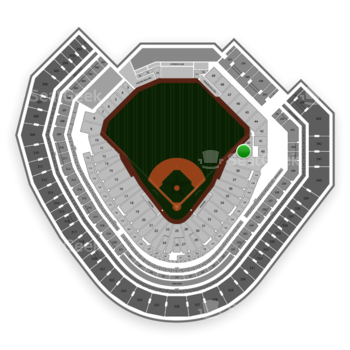 Texas Rangers at Globe Life Park Section 40 View
