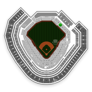 Texas Rangers at Globe Life Park Section 47 View