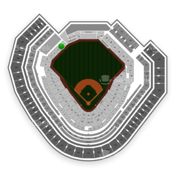 Texas Rangers at Globe Life Park Section 4 View