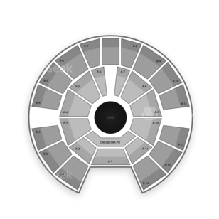 Celebrity Theatre Seating Chart NCAA Football
