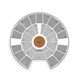 Celebrity Theatre Seating Chart MMA