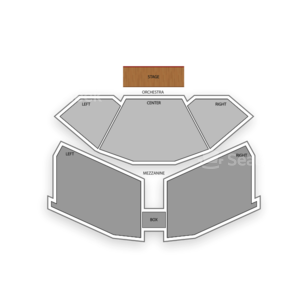 Le Theatre Des Arts at Paris Las Vegas Seating Chart Broadway Tickets National