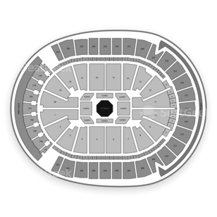 T-Mobile Arena Seating Chart MMA