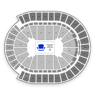 T-Mobile Arena Seating Chart Music Festival