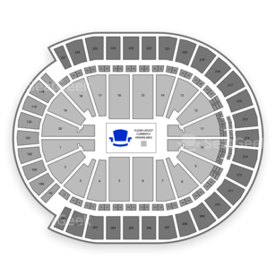 T-Mobile Arena Seating Chart NCAA Hockey