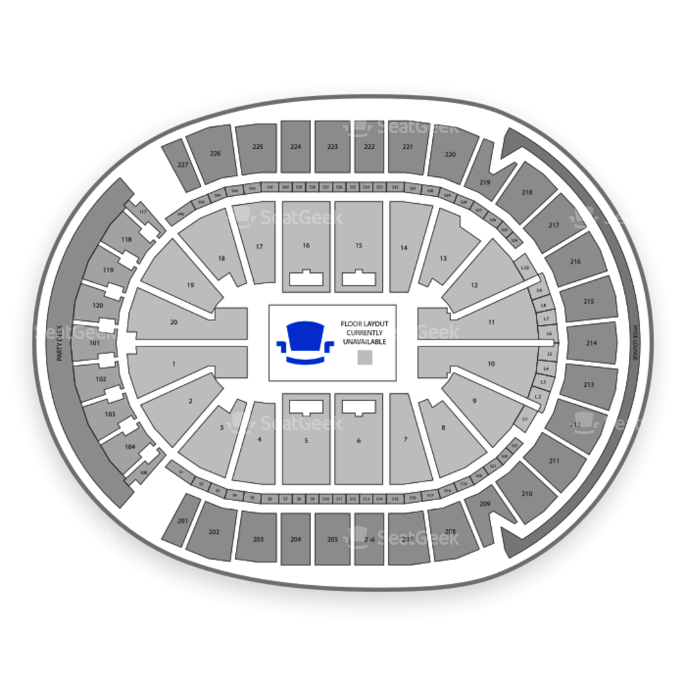T-Mobile Arena Seating Chart Comedy
