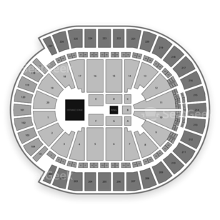T-Mobile Arena Seating Chart Wwe
