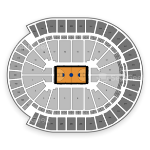 T-Mobile Arena Seating Chart NCAA Basketball