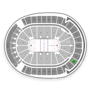 Vegas Golden Knights at T-Mobile Arena Section 211 View