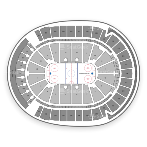 T-Mobile Arena Seating Chart | SeatGeek