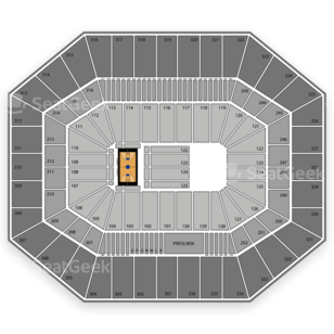 Syracuse Orange Basketball Seating Chart