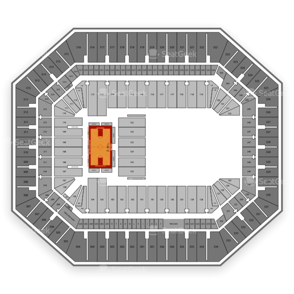 Carrier Dome Seating Chart NCAA Womens Basketball