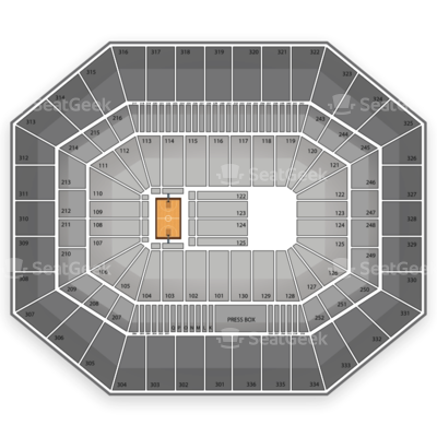 Carrier Dome seating chart NCAA Men's Basketball Tournament
