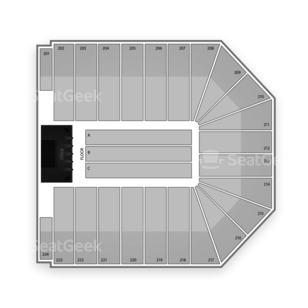 Ervin J. Nutter Center Seating Chart Concert