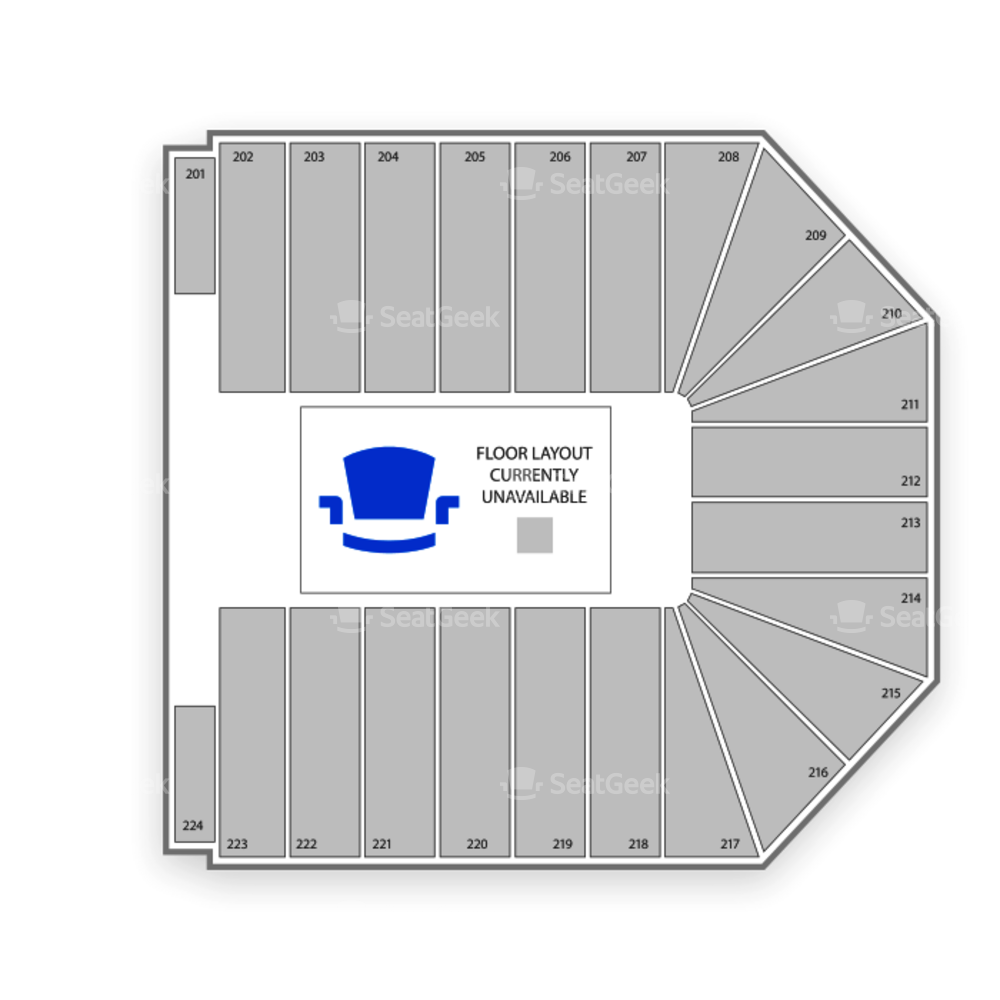 Wright State University Nutter Center Seating Chart Wwe